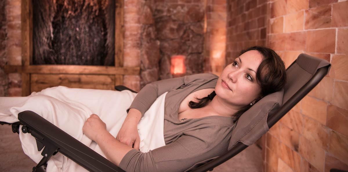 Entspannung pur in der SalzLounge Bad Sachsa